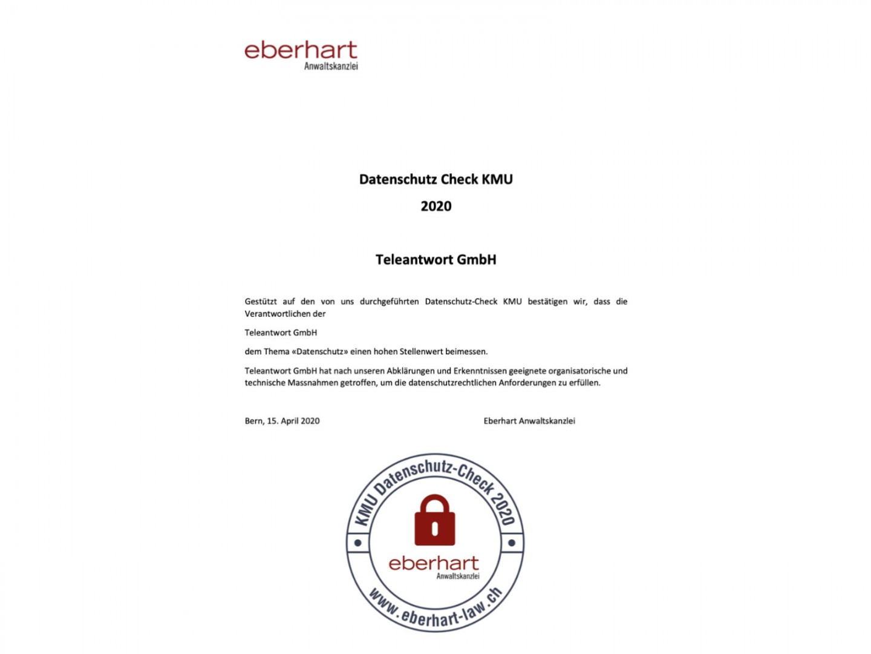 Datenschutz-Check